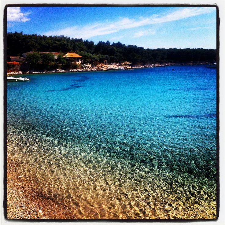 Swimming spot, Hvar Island Croatia