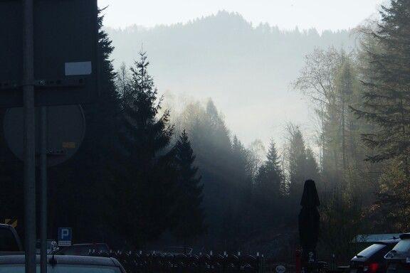 Widok z Hotelu o poranku
