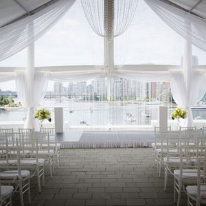 Vancouver Wedding Venue - Science World, waterfront, modern, outdoor spaces