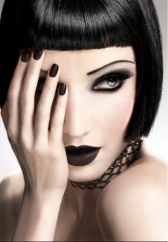 Gothic Wedding Makeup : 25+ best ideas about Gothic Eye Makeup on Pinterest ...