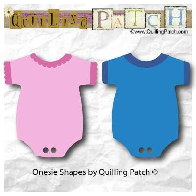 FREE Baby Onesie Cutting File for Scrap booking, Cards and Paper Crafts