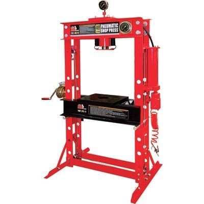 Műhelyprés  pneumatikus - hidraulikus  40t, Big Red