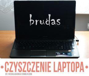 czyszczenie laptopa
