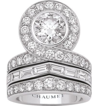 Diamond Rings : High Jewellery Chaumet | Joséphine tiara ring