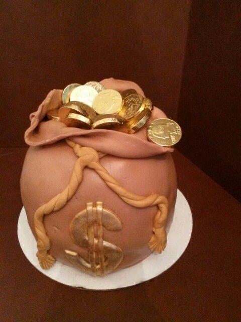 Money Bag Cake Ideas Money Bag Cake Ideas Pinterest