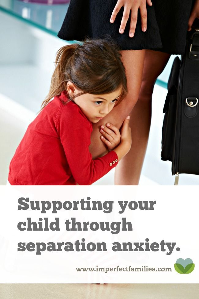 child mother separation anxiety Effects of a parent training programme for the treatment of young children with  separation anxiety disorder - volume 10 - sandra mayer-brien,.