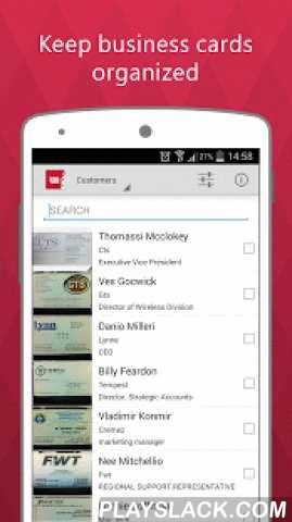 Business Card Reader Free  Android App - playslack.com ,  Seamlessly capturing contacts information from business cards in 22 languages, ABBYY Business Card Reader (BCR) is a powerful multi-function contact data management application that makes it effortless to enter and manage your business contacts.✓ ABBYY BCR is a Featured App in the Intel® Business App Portfolio✓ 'If your desk is strewn with printed business cards this could be the app for you. Throw away your 1980s-style rolodex and…