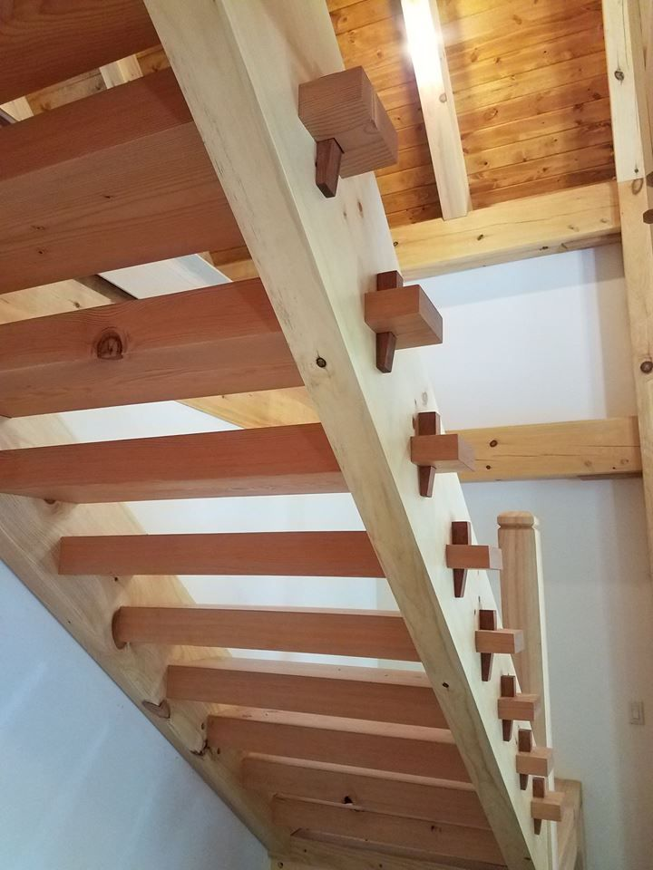 Best Portfolio Timber Framing Timber Staircase 400 x 300