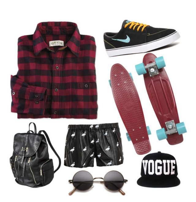 Lyf by tymarahshand on Polyvore featuring polyvore, fashion, style, Love Leather, NIKE, Penny and clothing