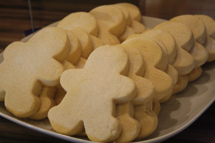 Vanilla Shortbread! Always popular and forever a favourite!