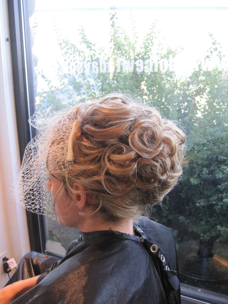 Bridal style done by Stephanie  at La Dolcevita Day Spa and Salon