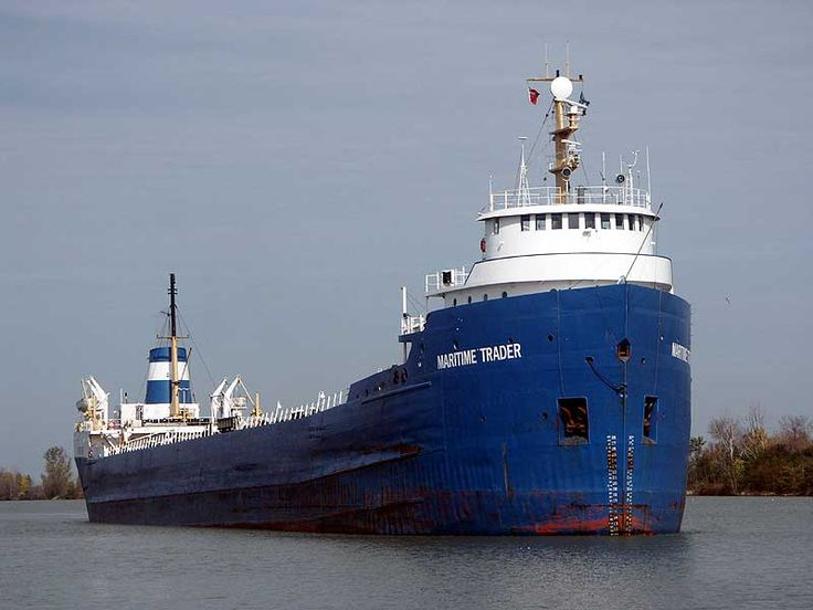 ships at dock green bay wi | 10/17 - Maritime Trader in the Welland Canal - Dick Wicklund