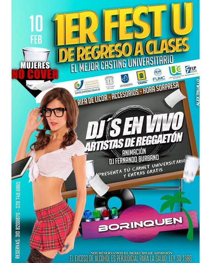Entra gratis hoy con tu carnet de Universitario hoy en @Borinquenclub sólo para mayores de 18 años