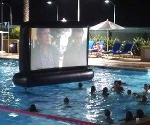 Inflatable Floating Movie Screen $999.00