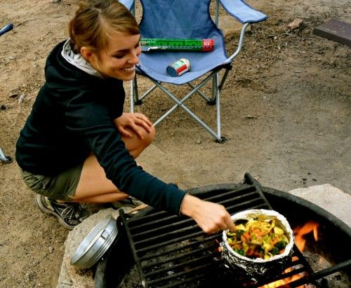 GF vegetarian camping food ideas saving this for Brooklynn when she goes camping with auntie!