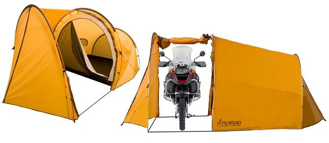 Ténéré Expedition Tent Comes With A Motorcycle Garage