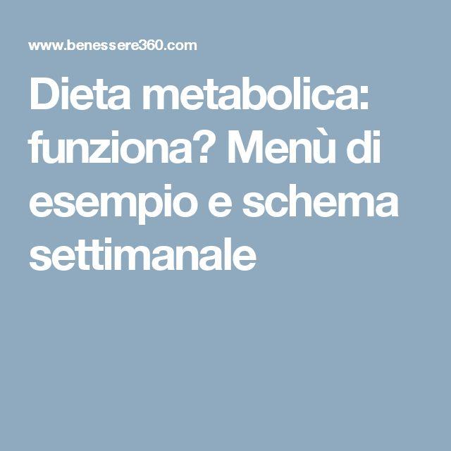 Dieta per perdita di peso a diabete