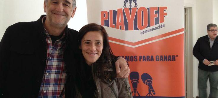 Pilar Casado (COPE) y Juanma López Iturriaga (TVE) I Congreso Baloncesto 2.0. Málaga 2014
