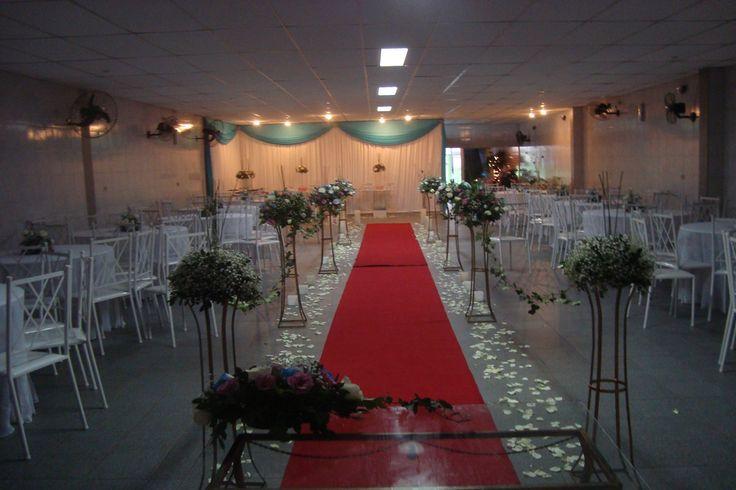 Vista Salão cerimonial casamento