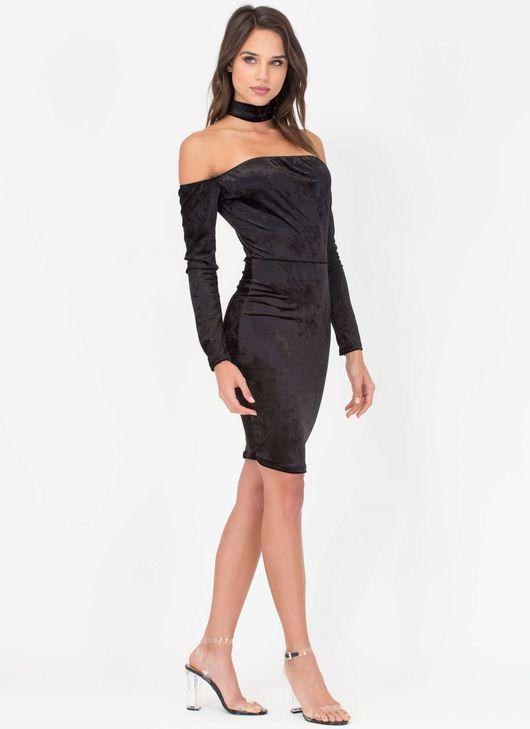 Cocktail dress / Платье вечернее, сексуальное платье из бархата,платье на новый год