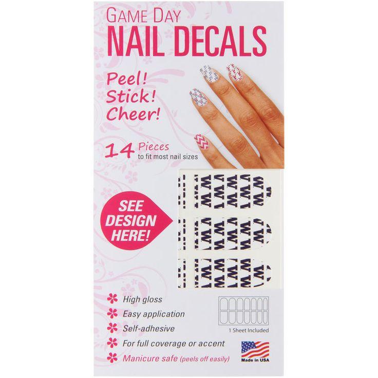 Washington Huskies Game Day Nails