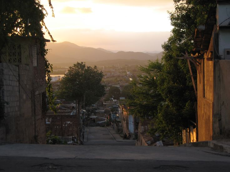 Sitting on at hill and watching the sunset in Santiago, Cuba (picture: Christoffer Volf)