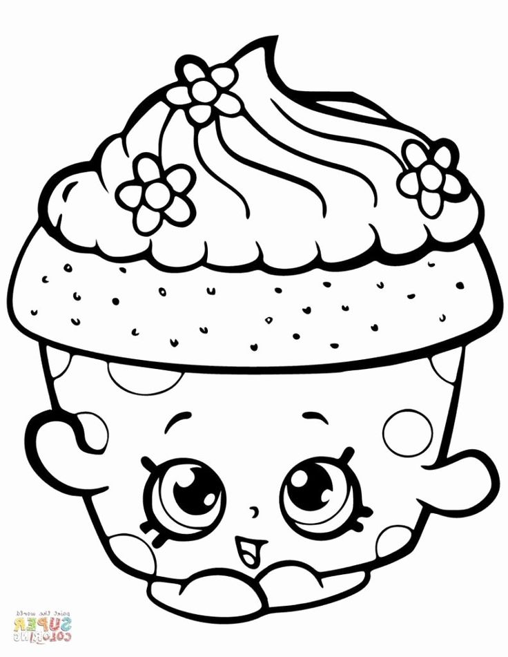 Christmas Shopkins Coloring Pages Inspirational Coloring ...