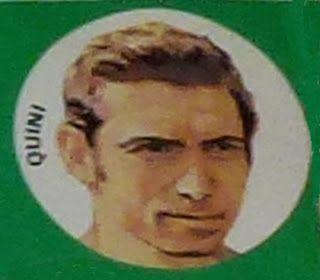 Quini. España. 1971-72. Cromos Bruguera. Todo.