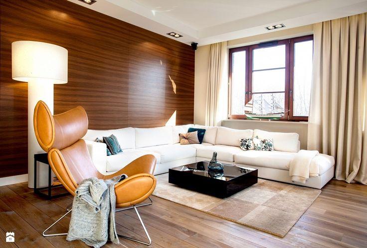 apartament nadmorski - Salon - Styl Minimalistyczny - emDesign home & decoration