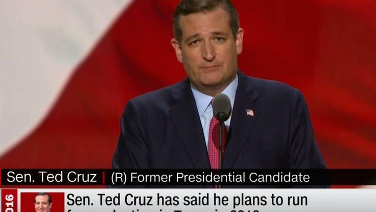 Il y a des sourires inoubliables : celui de Ted Cruz, l'ancien concurrent de Donald Trump à l'investiture du parti républicain en vue del'élection présidentielle US de 2016, ce 21 juillet 2016 en fait partie. Letroisième soir de la convention républicaine de Cleveland, les candidats malheureux battus par Trump étaient censés apporter leur soutien àleur …