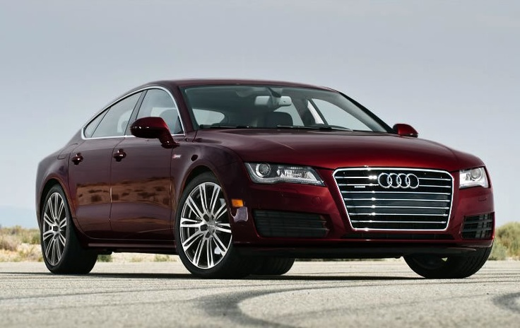 A7 in special order shiraz red metallic