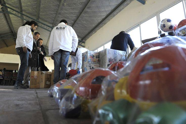 Por el día del niño, Arba entregó 8000 juguetes a instituciones de bien público