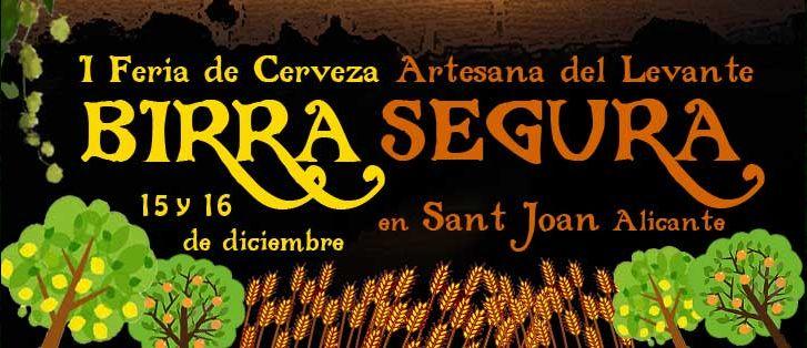 1 Feria de Cervezas Artesanas del Levante-Birra Segura