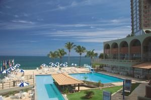 Hotel Pestana Bahia - Ideally located on Rio Vermelho Beach in Salvador, the Pestana Bahia Hotel offers rooms with ocean views and air conditioning. It features 2 outdoor swimming pools and a gym with modern equipment.