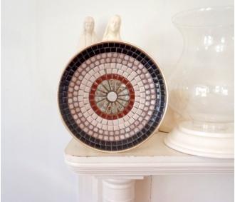 Vintage Mosaic Bowl.