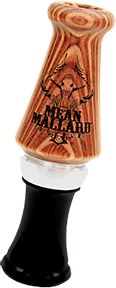 PRIMOS HUNTING CALLS Primos Mean Mallard Double Reed Duck Call, EA