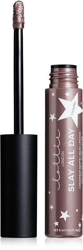 Lottie London Slay All Day Longwear Metallic Liquid Lipstick - Glow Up