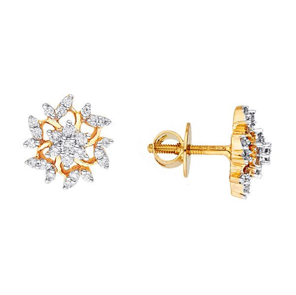 Katrina's Favourite - Nakshatra Diamond Earring NERA513SI-GH-K