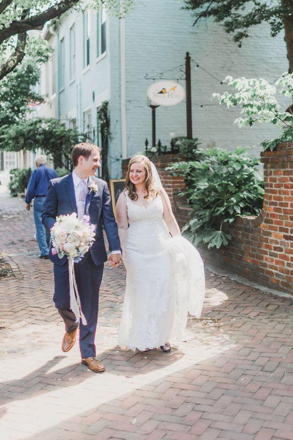 5a08f47455ce Alexandria VA wedding photo - Old Town - pastels