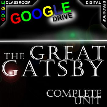 Our The Great Gatsby Unit Teaching Package has 236+ digital slides of engaging activities for 1:1 classroom. Learners will enjoy the rigor and creativity in these standards-aligned resources built from best practices. PreReading activities, Google Earth, Plot, Conflict, Character analysis, Writing Prompts, Essay/Speech topics, and Figurative Language. And now, our Created for Digital resources take all the trusted, quality instructional tools you know and love and convert them into the…