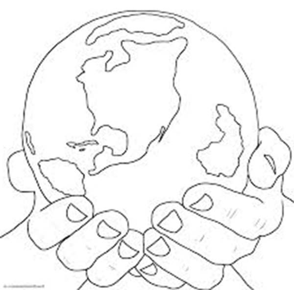 Days Creation Days Of Creation Earth Coloring Pages Earth
