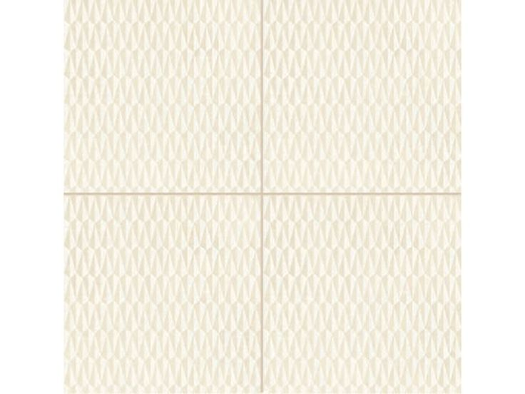 Pavimento/rivestimento in gres porcellanato smaltato AZULEJ BIANCO TRAMA Collezione AZULEJ by MUTINA | design Patricia Urquiola