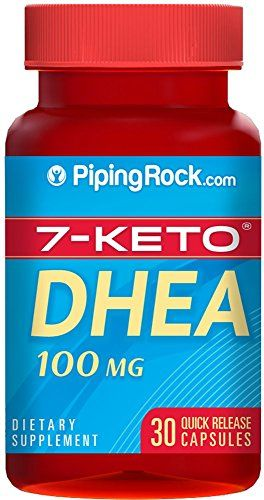 7-Keto DHEA 100 mg 30 Capsules *** For more information, visit image link.