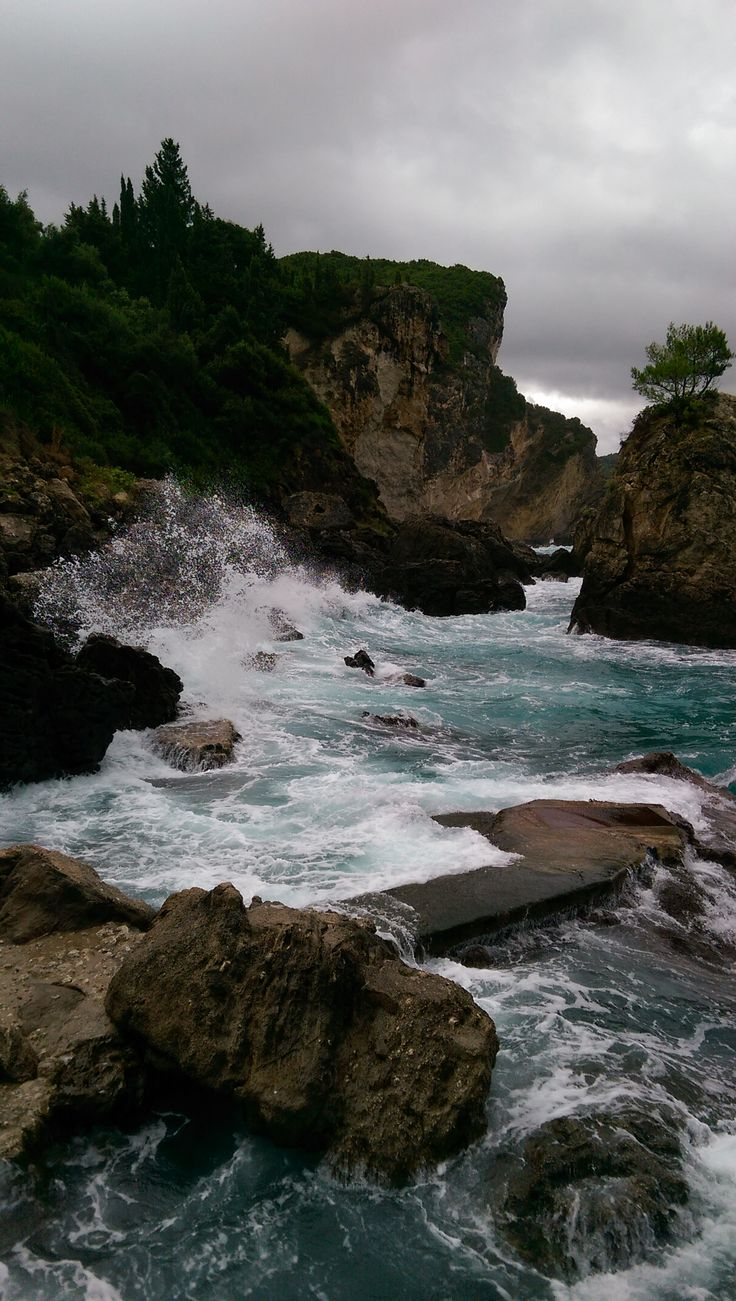 Grotta Bar Beach, Corfu