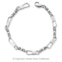 """""""The Fishers of Men Bracelet is 8"""" long. Jesus' first apostles were Peter, James, John and Andrew, all commercial fishermen by trade. In Matthew 4:19, Jesus promises them that they will be """"fishers of men"""" if they will follow Him. Jesus' promise to the apostles is one of a life full of richness and worth in service to God."""""""
