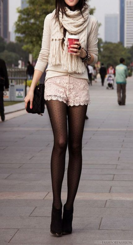 a778abc7a073e Best How To Wear Shorts With Tights Summer Ideas | How To Wear An ...