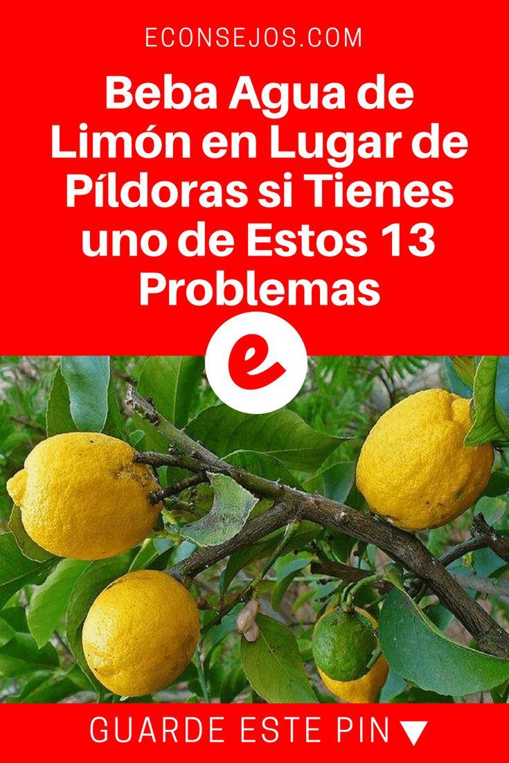 Agua de limon beneficios | Beba Agua de Limón en Lugar de Píldoras si Tienes uno de Estos 13 Problemas | Beba agua de limón en lugar de pastillas si tiene uno de estos 13 problemas. #bienestar