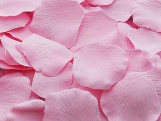 Silk Rose Petals Cotton Candy 100 Piece | Wedding Flowers