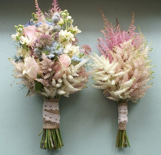 pale wildflowers | High Summer Bouquets - Wedding Flowers for July Brides - Wedding Blog ...