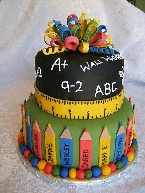 Cake Images For Teacher : Teacher cake. . Birthday ideas Pinterest